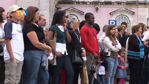 Novos voluntários da Cruz Vermelha Portuguesa