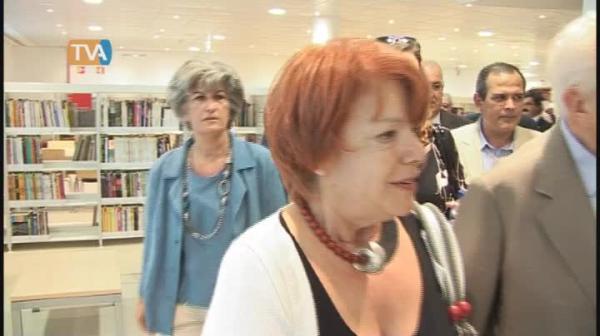 Inauguração da Biblioteca Piteira Santos