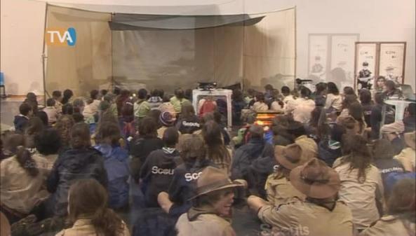 Escuteiros da Brandoa / Homenagem a Baden Powell