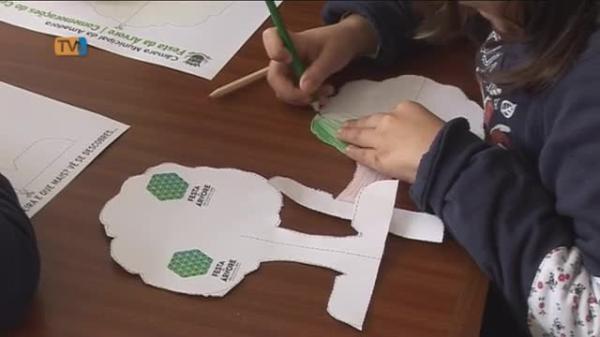 Crianças Plantam Àrvores na Unidade de Apoio Militar da Amadora