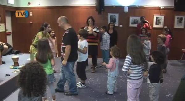 Pais e Filhos passam o Serão na Biblioteca Piteira Santos