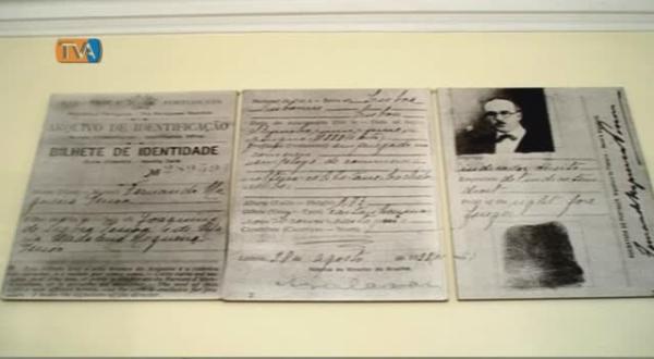 Exposição Documental para comemorar os 125 anos do nascimento de Fernando Pessoa