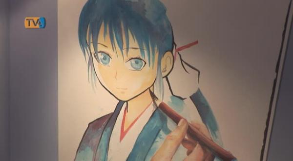 Exposição de Yoshiyasu Tamura no 24º FIBDA