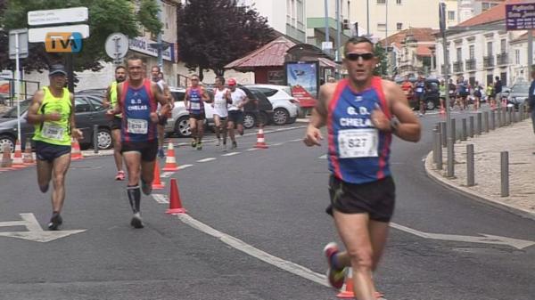 Corrida de Sto António - A penúltima prova do Torneio de Atletismo Cidade Amadora