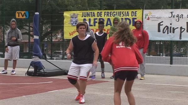 Mais de 100 Atletas participam I Torneio 3x3 Basket de Alfragide