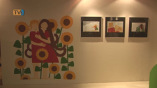 A história de Lôá contada pelo desenho de Vera Tavares