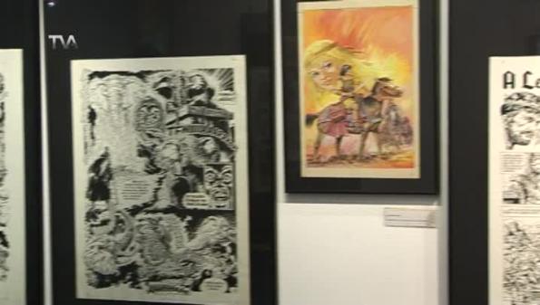 A Colaboração de Trigo e Magalhães em Exposição na Bedeteca