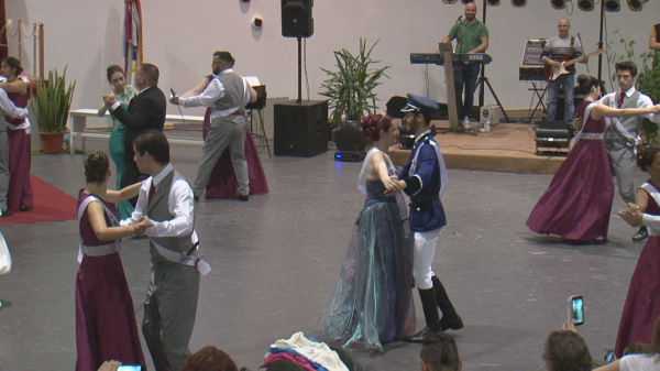 Baile da Pinha do Rancho Folclórico Infantil e Juvenil da Brandoa