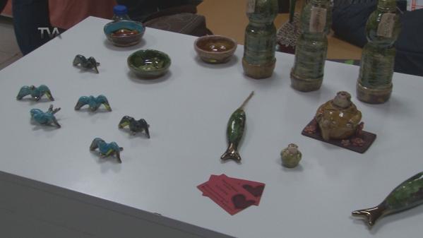 Cerâmica de Maria Nazaré em exposição na Venteira