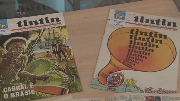 Exposição Celebra 50 Anos da Revista TinTin