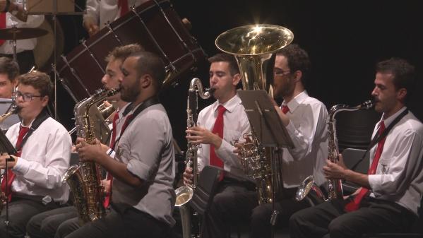 Banda da SFCIA Celebra Dia Mundial da Música