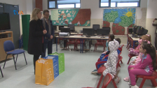 Escola Básica Sacadura Cabral Recebe Ecobags