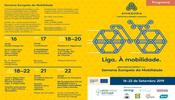 Amadora Assinala Semana Europeia da Mobilidade