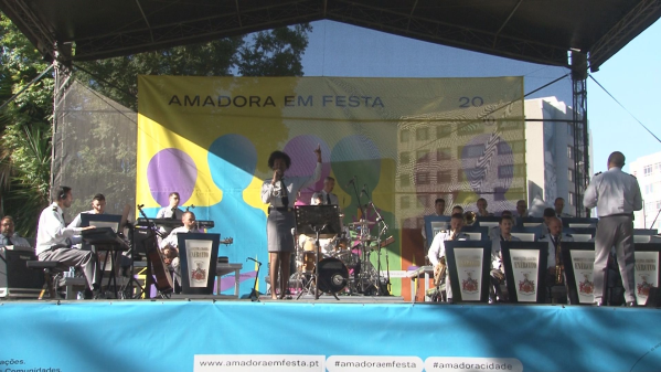 Orquestra Ligeira do Exército Celebra Aniversário da Amadora