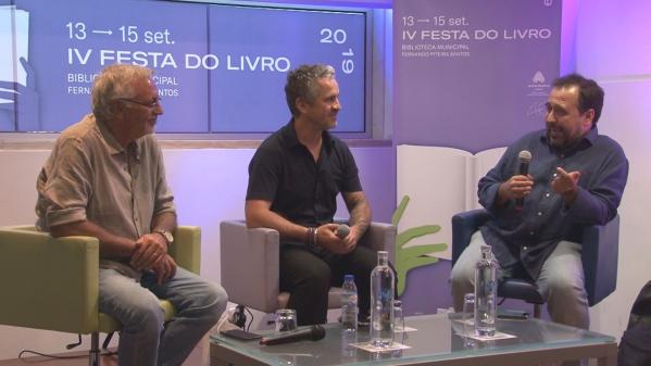 Conversa de Francisco José Viegas e José Luís Peixoto - Festa do Livro Amadora 2019