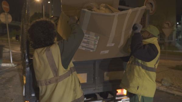 JF Encosta do Sol Cria Brigadas para Recolha de Lixo à Noite