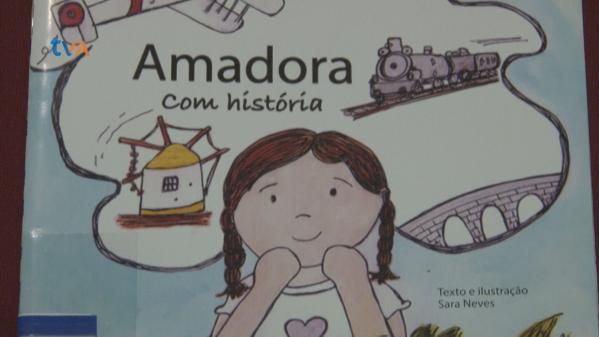 Sara Neves Conta a História da Amadora em Livro Ilustrado