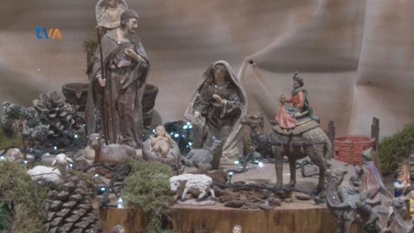 Presépio no Mercado da Brandoa Abrilhanta o Natal